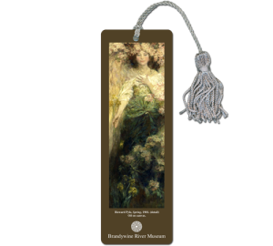 Art Museum Custom Bookmark Example