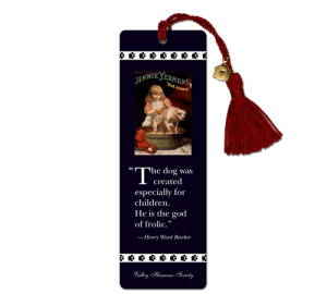 Dog Bookmark Example