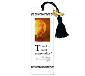 Custom Travel Bookmark Example
