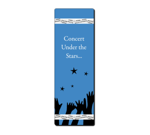 Design it yourself bookmark - Reach for the stars