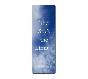 Custom Laminated Bookmark - Sky image