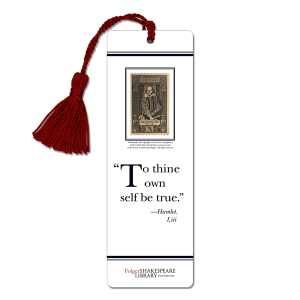 Shakespeare laminated bookmarks