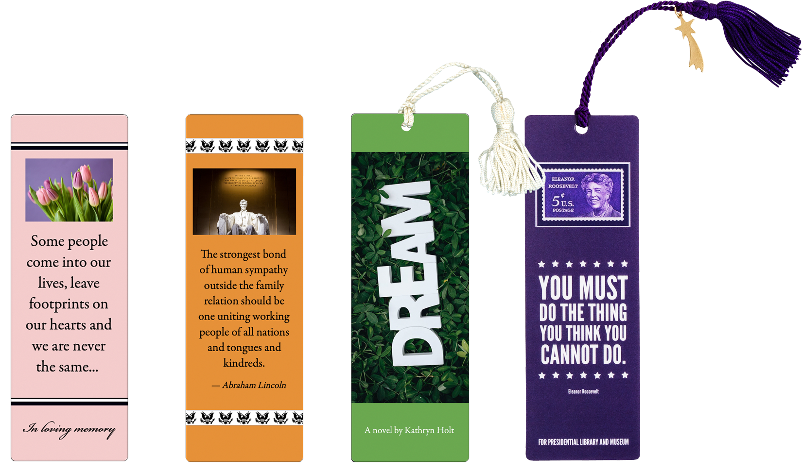 Custom Bookmarks - Laminated