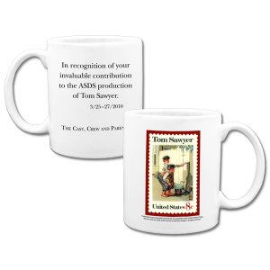 Tom Sawyer photo coffee mugs