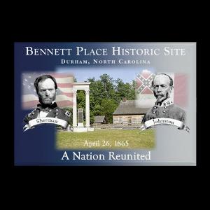 Bennett Place custom magnet