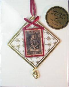 Shakespeare custom ornament
