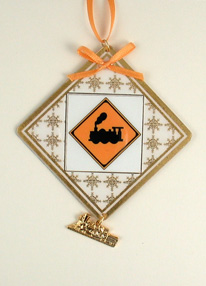 personalized tree ornament - RR