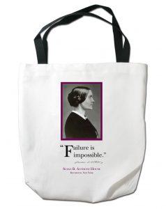 Susan B. Anthony image Custom Tote Bag