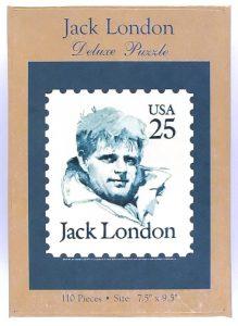 Custom Jigsaw Puzzle box - Jack London stamp