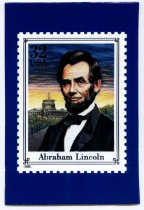 Personalized Lincoln postcards