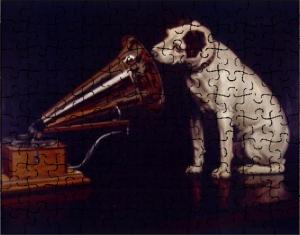 Custom RCA dog Jigsaw Puzzle