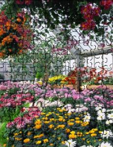 Garden Custom Jigsaw Puzzle