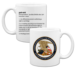 Coffee Cup - patent definition Example
