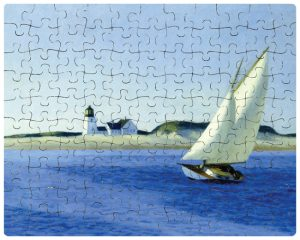 Custom jigsaw puzzle - Sailboat painting
