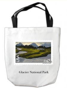 Glacier Park Custom Tote Bag