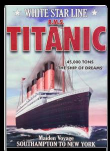 Titanic Rigid Metal Wrapped Magnet Example