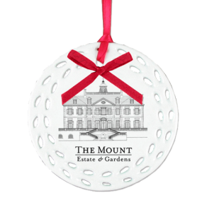 Custom Ceramic Logo Ornament