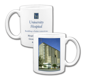 Custom Coffee Mug Photo on one side