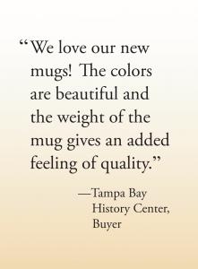 Custom Mug testimonial