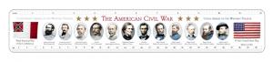 Civil War custom ruler