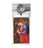 Custom acrylic keychain with angel image