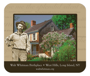 Custom Mousepad Walt Whitman