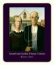 Personalized mousepad American Gothic