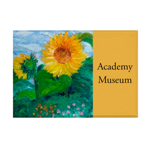 Custom Refrigerator Magnet - Sunflower painting