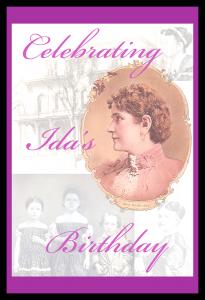 Ida's Birthday custom postcard