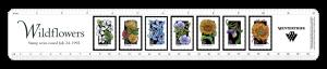 Wildflowers custom ruler