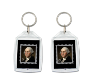 Order Custom Made in USA keychains