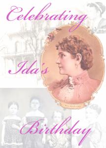 Ida image on custom postcards