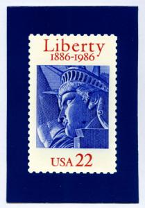 Custom Liberty postcards