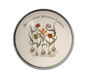 Custom Floral Paperweight Example