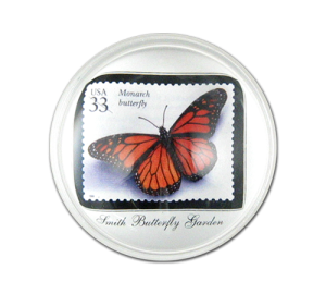 Personalized Butterfuly Paperweight Example