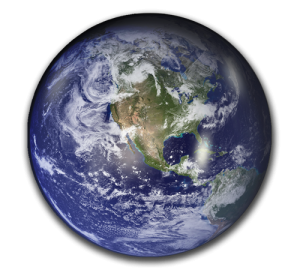 Planet Earth Paperweight - Deluxe