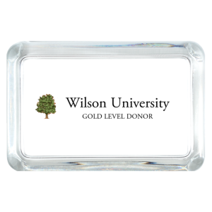PW-Custom Rectangle Paperweight