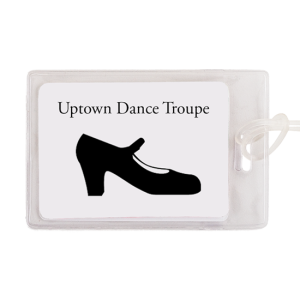 Custom Vinyl Luggage Tag - Dance Group