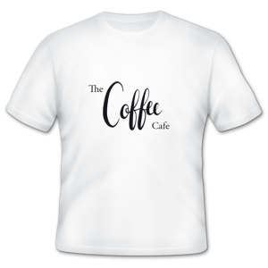 Tshirt for coffee company