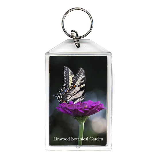 Personalized keychain for Botanical Garden