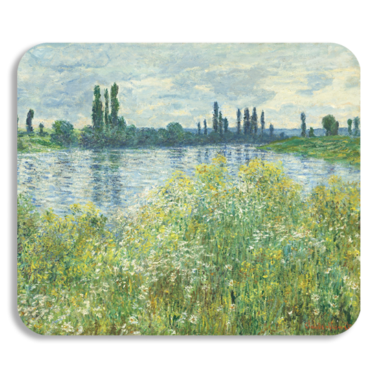 Monet painting personalized mousepad