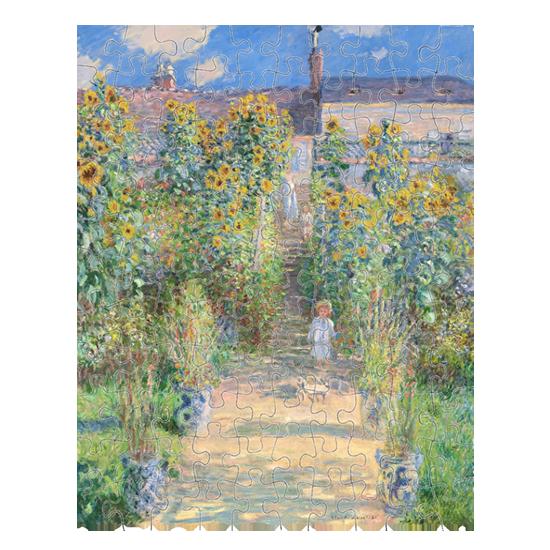 Impressionist art jigsaw puzzle