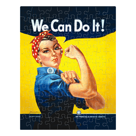 We Can Do It Rosie the Riveter jigsaw puzzle