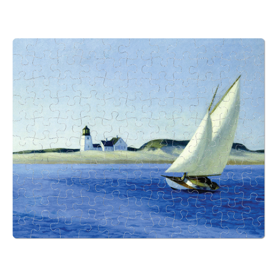 Sailboat Edward Hopper jigsaw puzzle