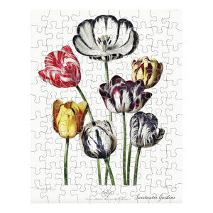 Custom Printed Jigsaw Puzzle - Flower bouquet