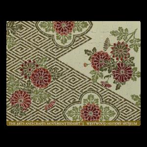 Custom Printed Jigsaw Puzzle - Woven design