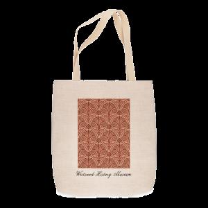 Custom Printed Tote Bag -Woven design