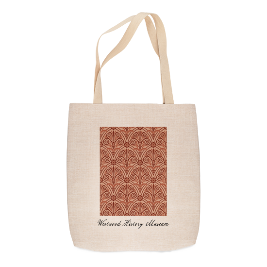custom natural-look tote bag with custom printing