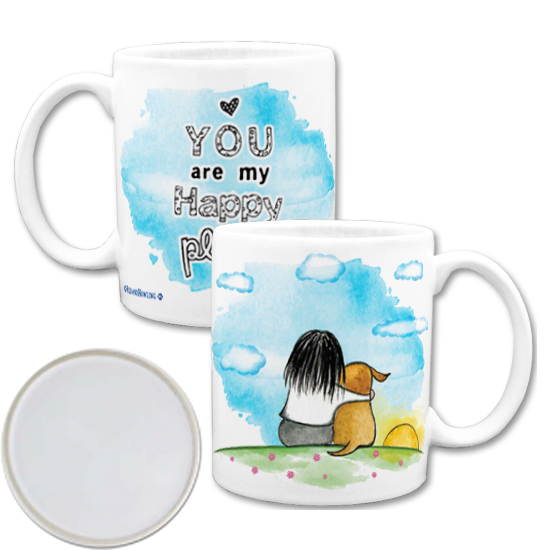 Custom Coffee Mugs - Personalized Mugs with art