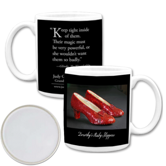 Custom Coffee Mugs - Photo Mug Ruby Slippers